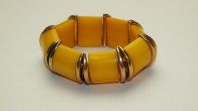 Bakelite Stretch Bracelet