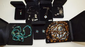 Sterling Silver Lot Of Jewelry