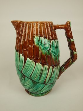 "Wardle Bamboo And Fern 9"" Pitcher"