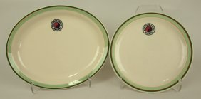 Railroad Dining Car China, Northern Pacific: 9 1/2""