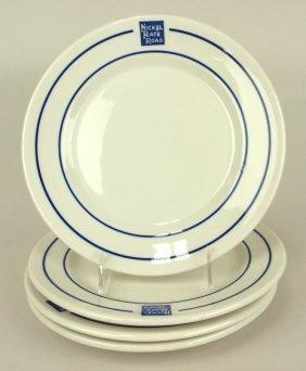 "Railroad Dining Car China, Nickel Plate, ""bellevue"""