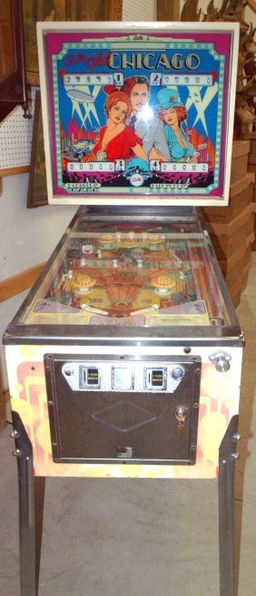Bally Old Chicago Vintage Pinball Machine