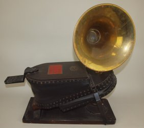 Early 20th Century Miners Safety Signal Bellows, Siebe,