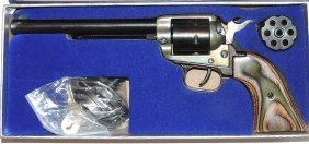 Heritage Rough Rider 22/22 mag revolver with box,