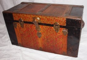 Flat Top Trunk With Insert