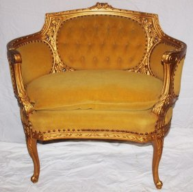 Gold Gilted Chair