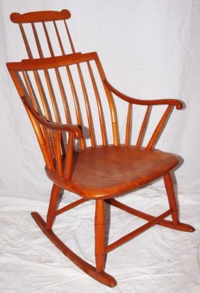 Windsor Bird Cage Style Arm Rocker