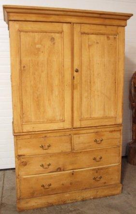"""Pine 2 Piece Cabinet, 78""""h, 50""""w"""