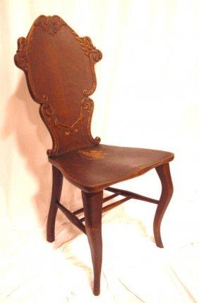 Oak Quarter Sawn Side Chair