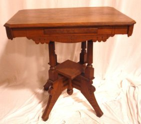 Walnut Parlor Table