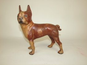Cast Iron Bull Dog Doorstop