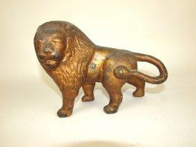 Cast Iron Lion Door Stop