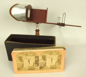 Stereo Viewer And Cards