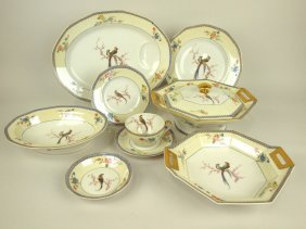"Theodore Haviland ""chambord"" Set Of China: 14"" Platter,"
