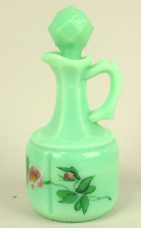 Green Custard Georgia Gem Cruet