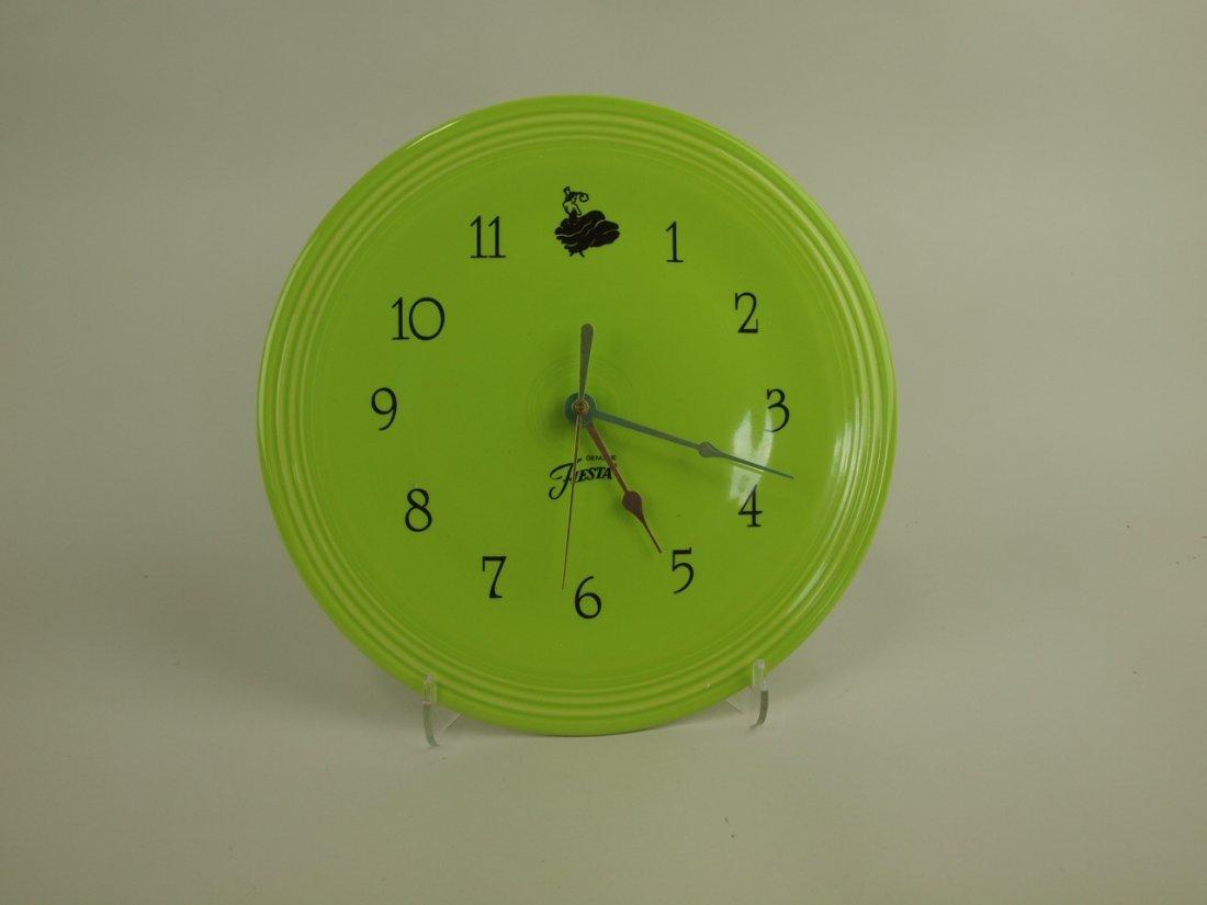 Fiesta Post 86 plate clock, NIB