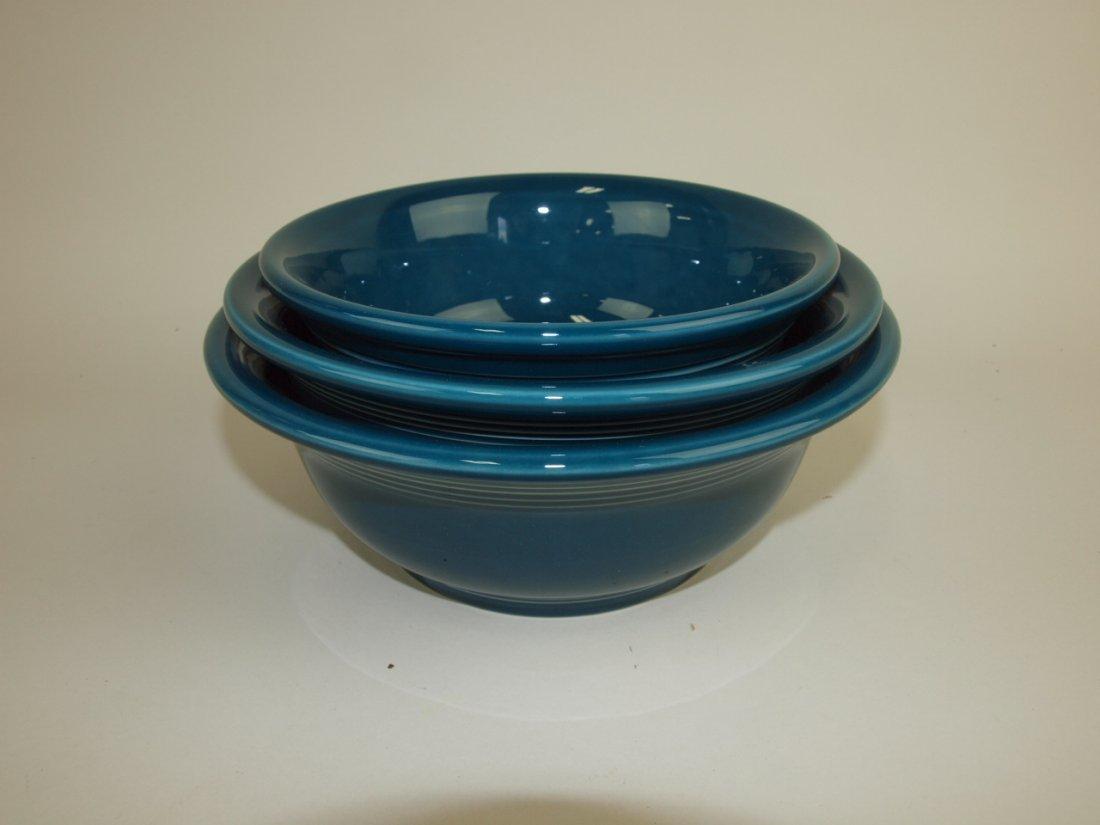 Fiesta Post 86 juniper 3 piece mixing bowl set