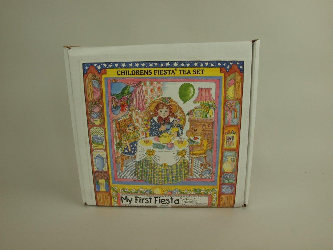 """Fiesta Post 86 """"My First Fiesta"""" set, NIB"""