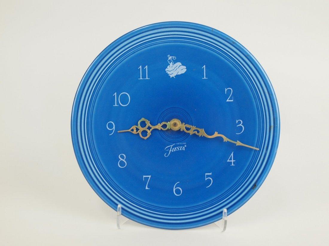Fiesta Post 86 plate clock