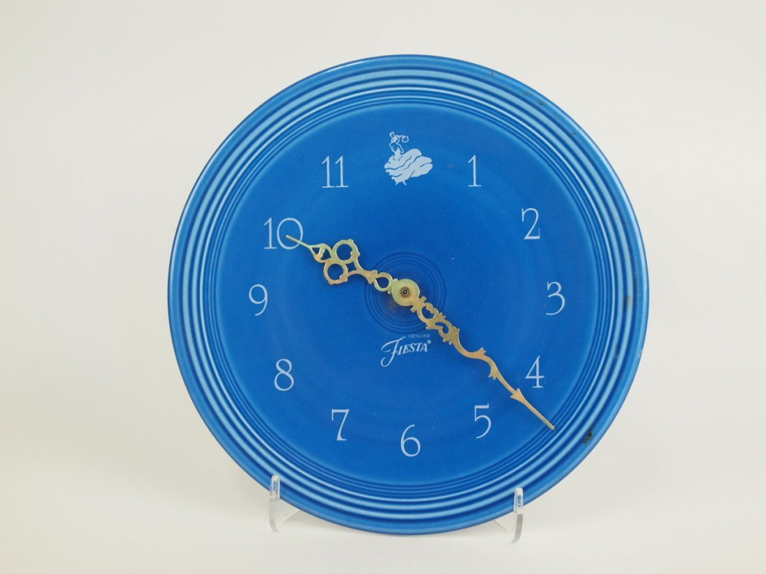 Fiesta Post 86 sapphire plate clock