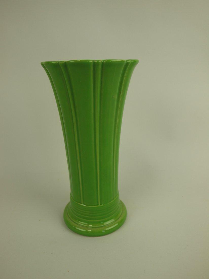 Fiesta Post 86 shamrock medium vase