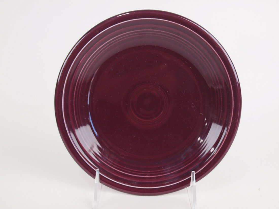 """Fiesta Post 86 RARE Raspberry 7"""" plate, only one made"""