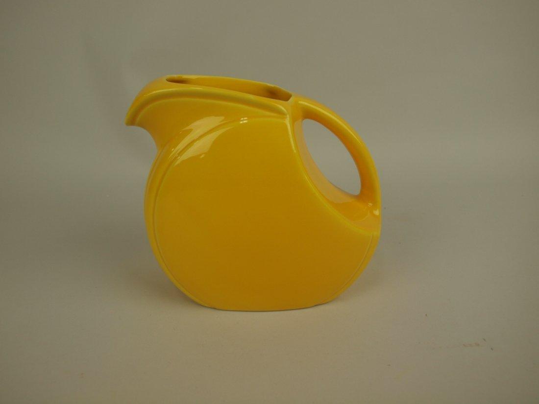 Riviera yellow juice pitcher