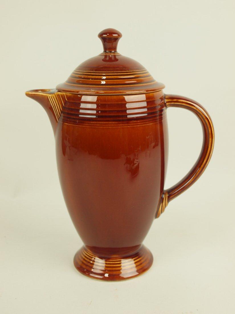 Fiesta Amberstone coffee pot