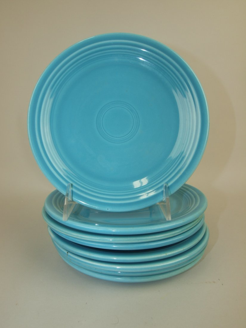 """Fiesta 7"""" plate group 8 turquoise"""