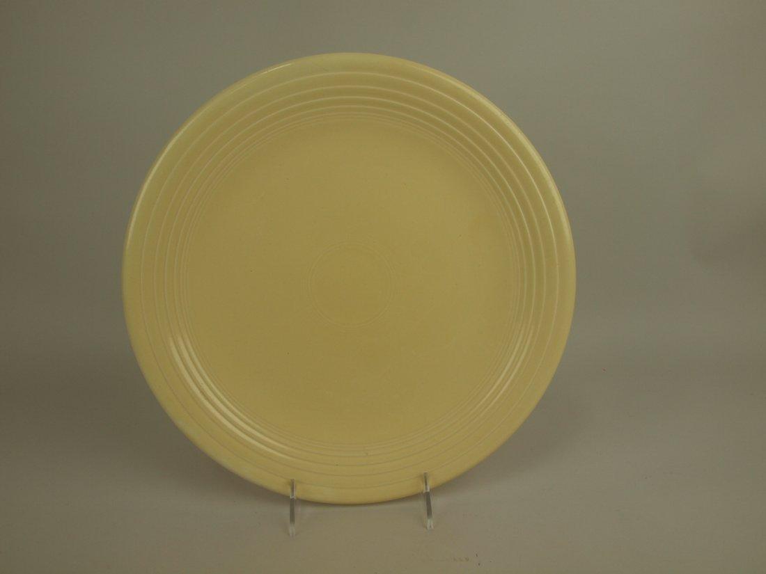 "Fiesta 13"" chop plate, ivory"