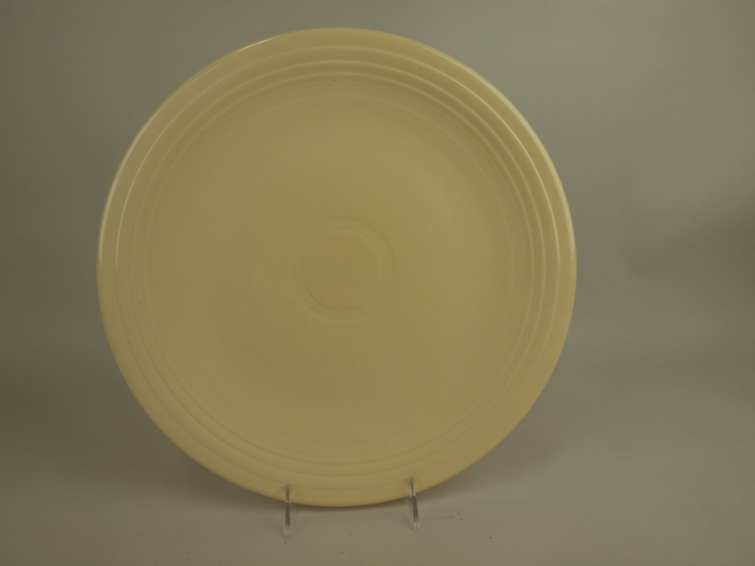 "Fiesta 15"" chop plate, ivory"