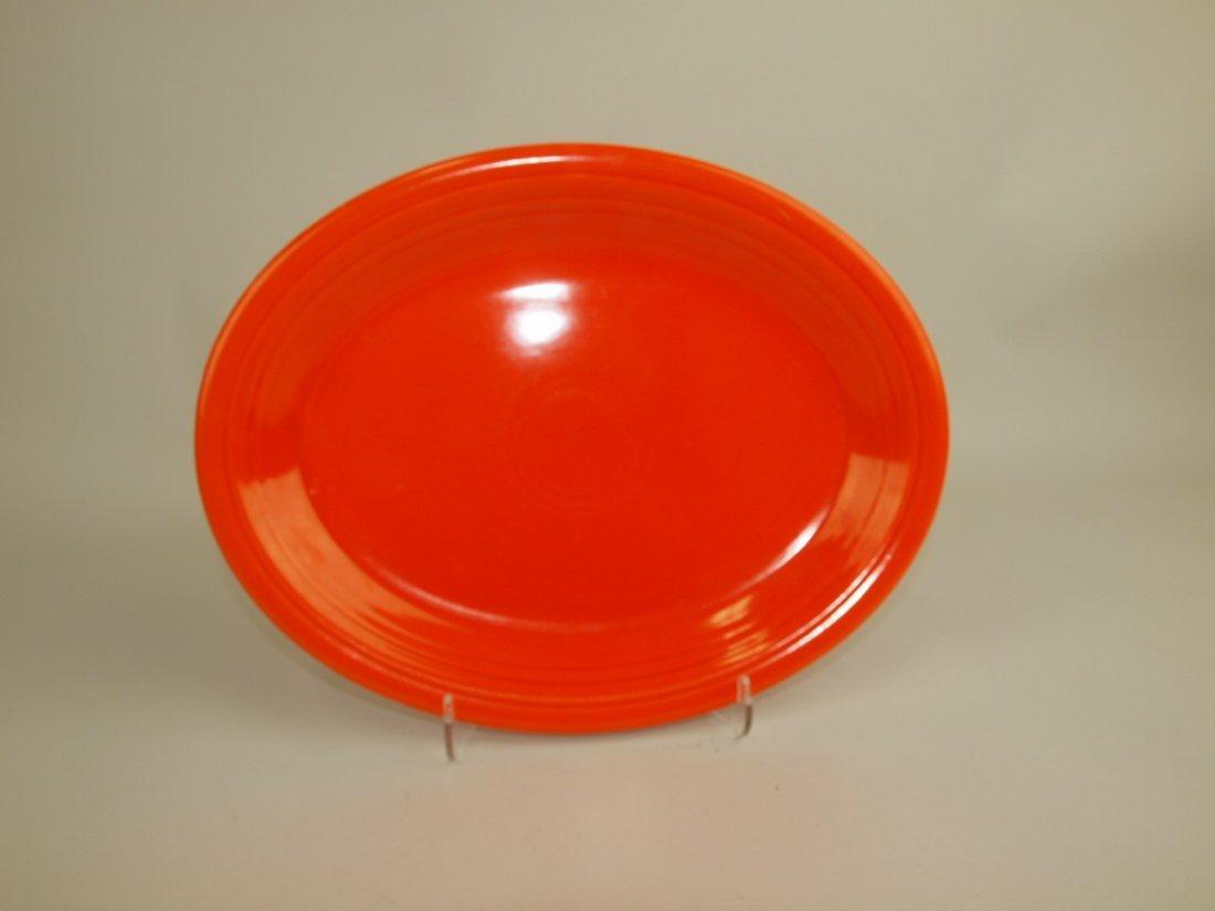 Fiesta platter, red