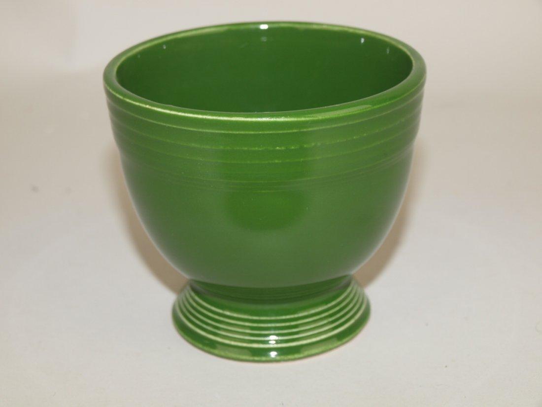 Fiesta egg cup, dark green
