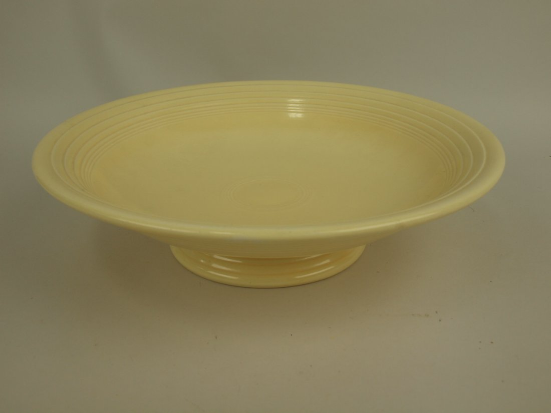 """Fiesta 12"""" compote,  ivory"""