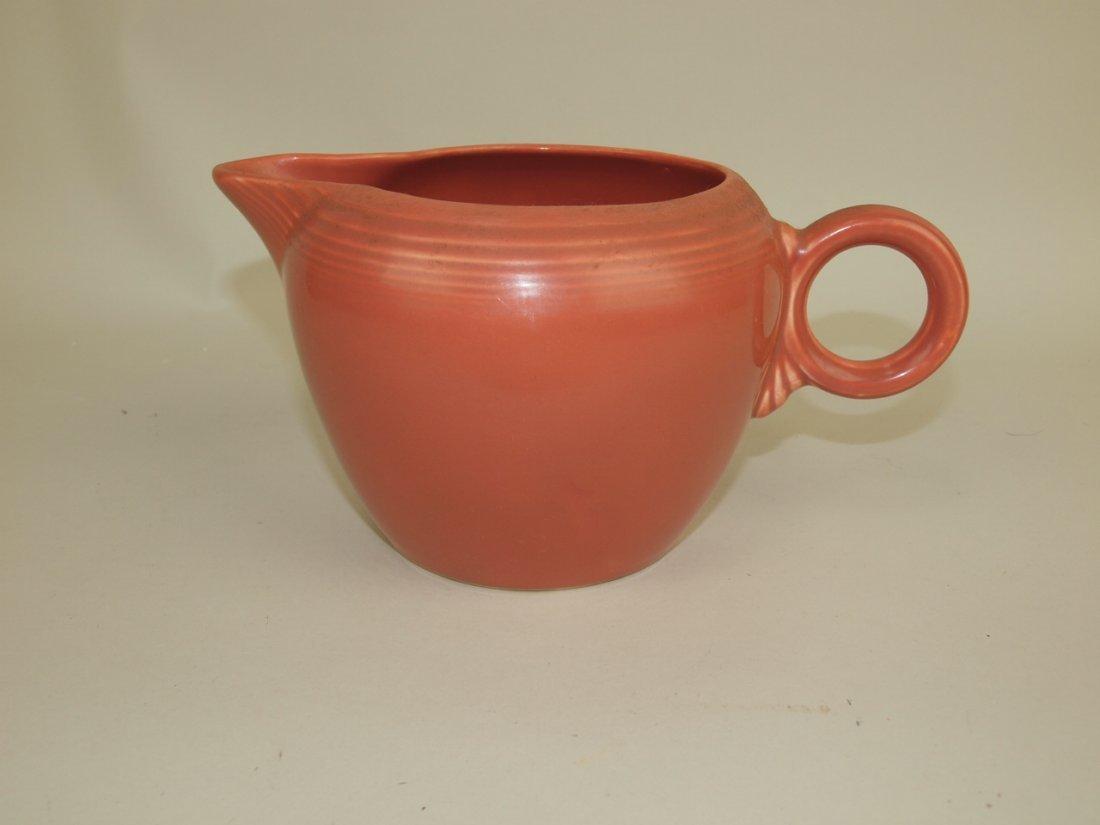 Fiesta two pint jug, rose
