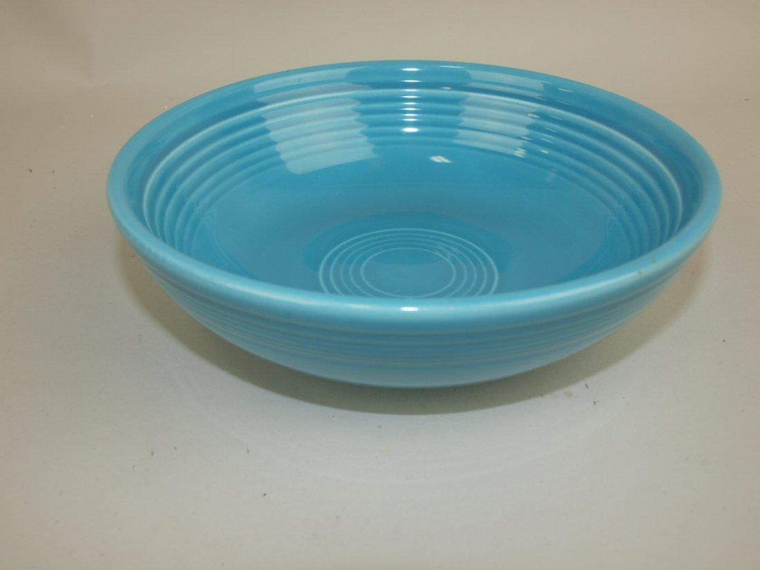 Fiesta individual salad bowl, turquoise