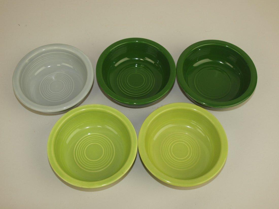 "Fiesta 4 3/4"" fruit bowl group: 5-50's colors"