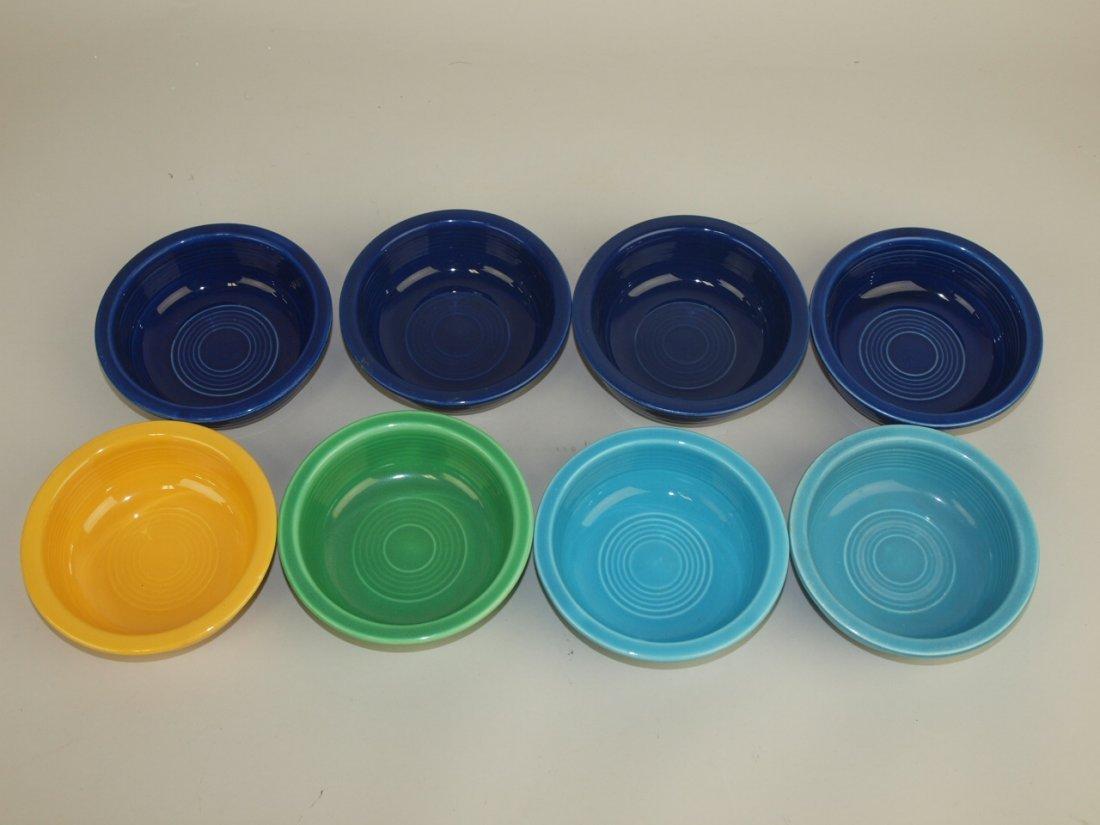 "Fiesta 4 3/4"" fruit bowl group: 8 mixed colors"