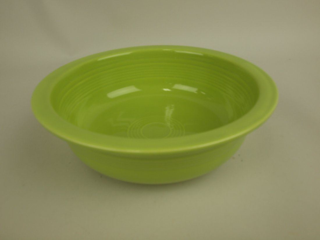 """Fiesta 8 1/2"""" nappy bowl, chartreuse"""