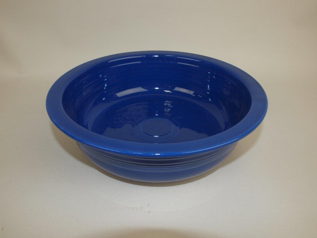 "Fiesta 9 1/2"" nappy bowl,  cobalt"