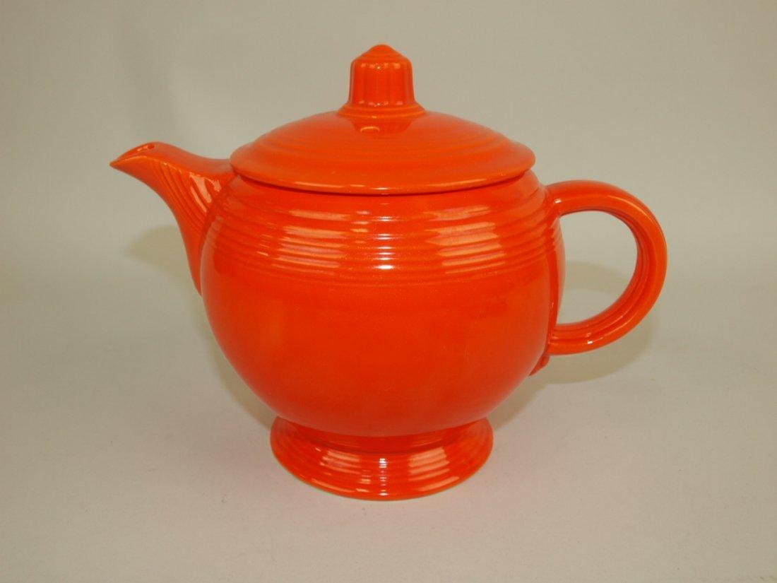 Fiesta medium teapot, red