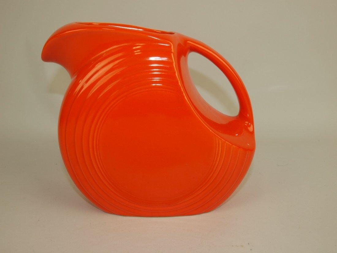 Fiesta disk pitcher, red (nick)