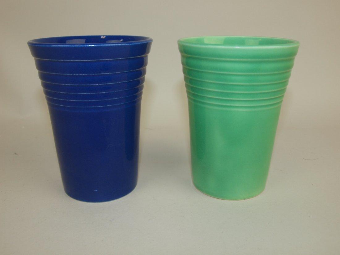 Fiesta water tumbler group: cobalt & green