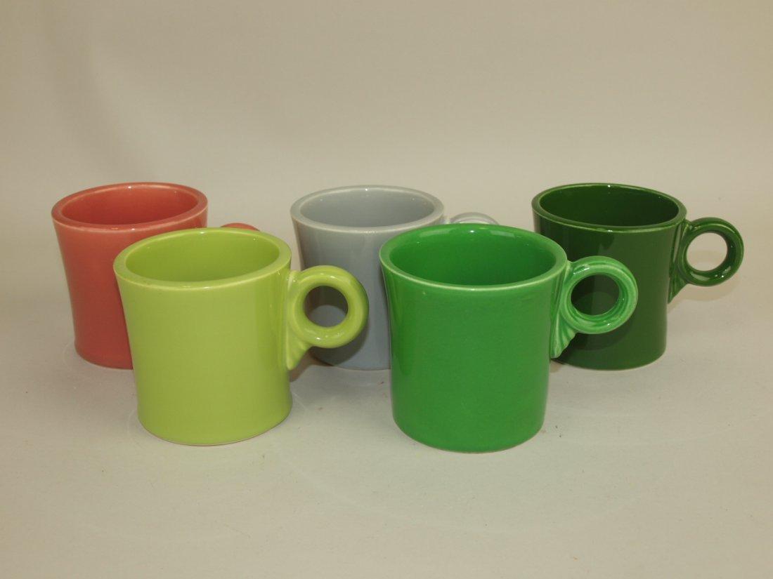 Fiesta mug group: all 5, 50's colors
