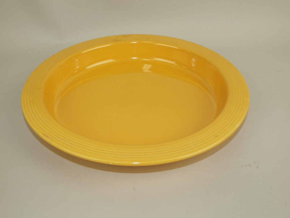 Fiesta relish tray base only, yellow