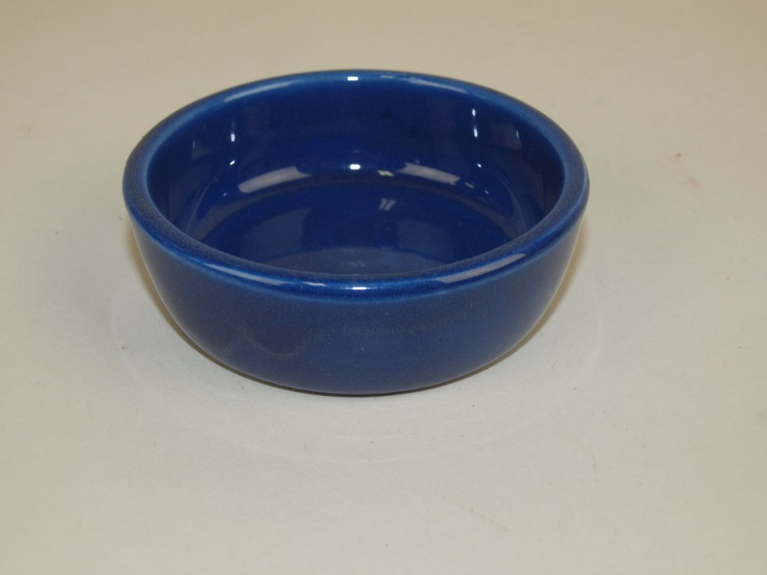 Fiesta relish tray center insert, cobalt
