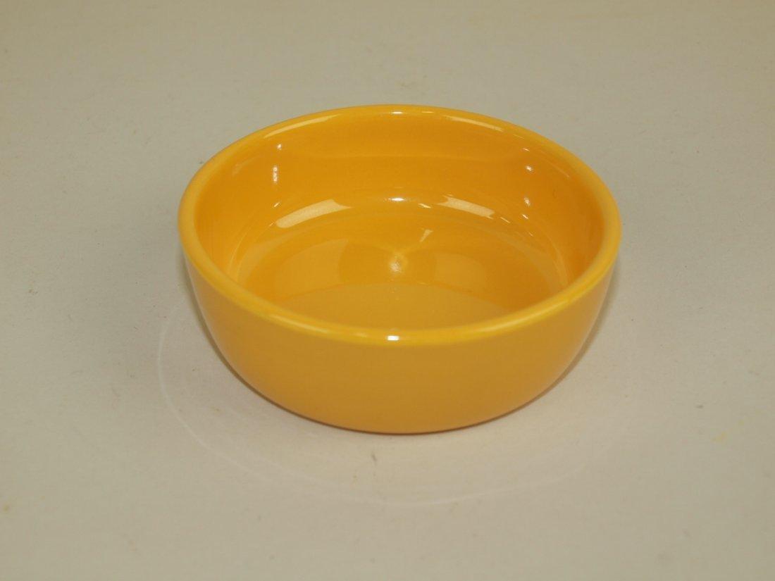 Fiesta relish tray center insert, yellow