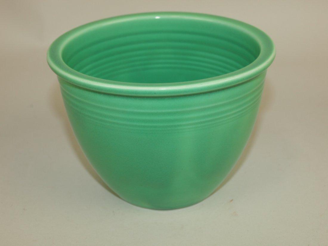 Fiesta #1 mixing bowl, green, inside rings