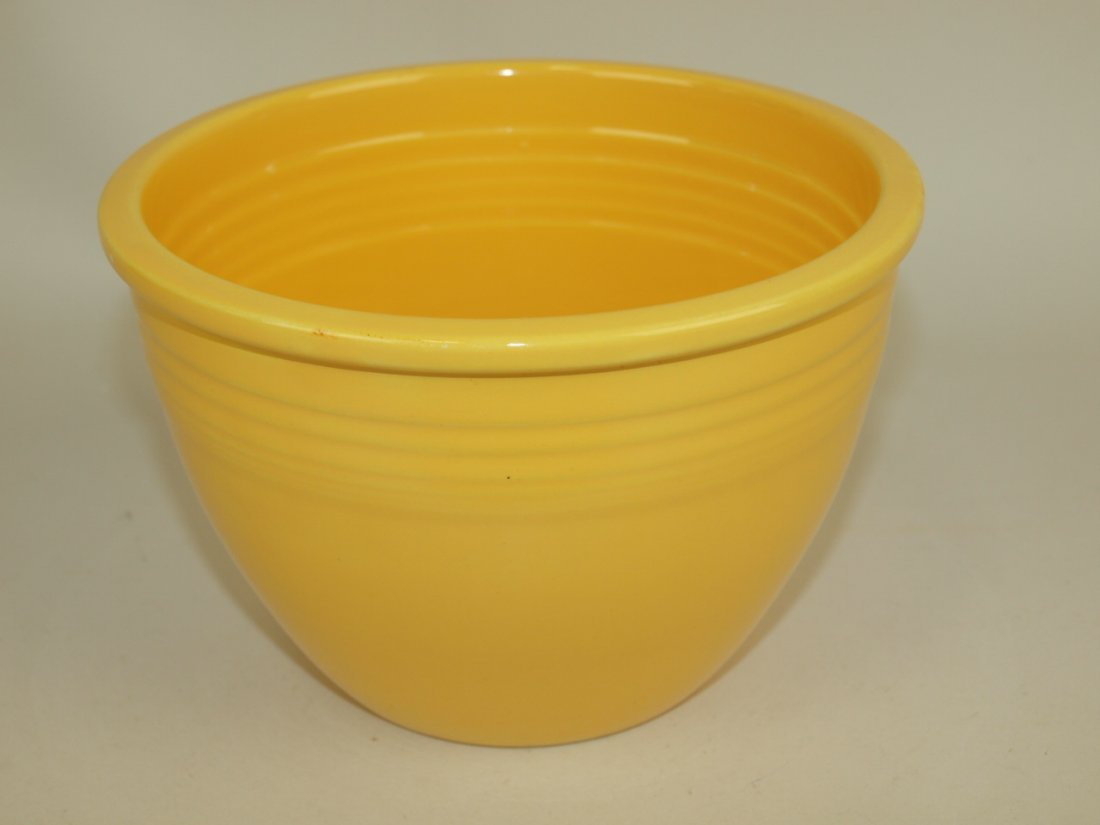 Fiesta #2 mixing bowl, yellow