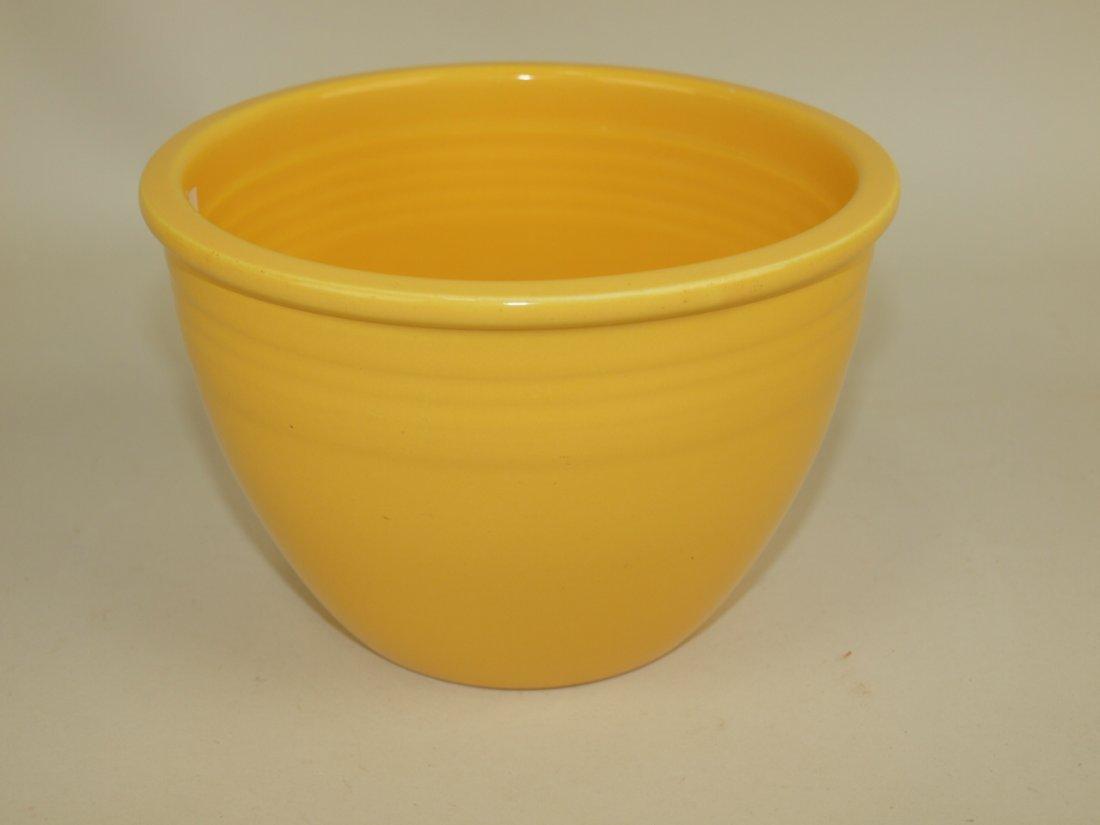 Fiesta #2 mixing bowl, yellow, nick